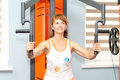 Woman At The Gym Stock Images - 75264534