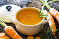 Carrot Soup Royalty Free Stock Images - 75266809