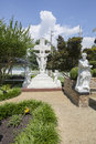 Graceland Statues In The Meditation Garden Royalty Free Stock Image - 75268416