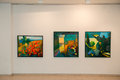Paintings Exhibition In Jurmala Royalty Free Stock Photo - 75276575