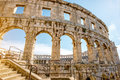 Amphitheatre In Pula City Stock Images - 75282194