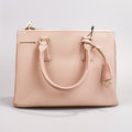 Pink Lady S Bag On A White Background Royalty Free Stock Photography - 75289127