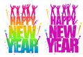 Happy New Year Sign Stock Images - 7539934