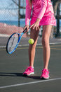 Tennis Player In Action Stock Photos - 75304033
