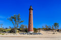 Little Sable Point Lighthouse Tower Stock Images - 75307794