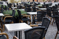 Outdoor Restaurant Terrace Royalty Free Stock Images - 75385889