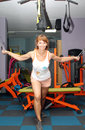 Woman At The Gym Royalty Free Stock Photo - 75392555