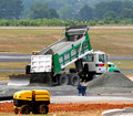 Dumping Gravel Stock Photos - 7543683