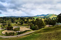 Panoramic View Of The Field Royalty Free Stock Photos - 75438378