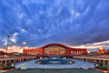 Harbin West Station Night Stock Image - 75463251