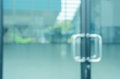 Blurred Abstract Glass Door Stock Photography - 75478722