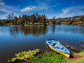 Boat In Lake Royalty Free Stock Images - 75489659