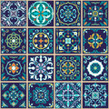Vector Seamless Texture. Beautiful Patchwork Pattern For Design And Fashion With Decorative Elements Royalty Free Stock Photography - 75496087