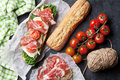 Ciabatta Sandwich Stock Photography - 75504562