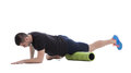 Foam Roller Exercises Royalty Free Stock Images - 75521479