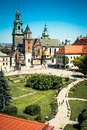Wawel Castle In Krakow Stock Photo - 75527750