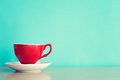 Red Coffee Cup Royalty Free Stock Images - 75535249