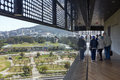 View Of California Academy Of Sciences From Windows Of De Young Stock Images - 75566564