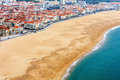 Nazare Coast View (Portugal). Royalty Free Stock Photos - 75579168