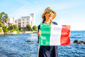 Traveling Near Miramare Castle In Italy Royalty Free Stock Photo - 75589125