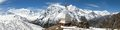 Panoramic View Of Annapurna Range Royalty Free Stock Image - 75589696