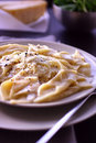 Pasta With Vegetable Sauce Stock Photography - 7560322