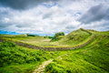 Scotland Hadrian Wall Hiking Nature Royalty Free Stock Photos - 75619168