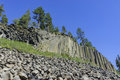Special Geology In Devils Postpile National Monument Royalty Free Stock Photo - 75648015