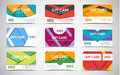 Big Set Of Gift Cards Of Different Values. Stock Image - 75660061