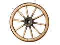 Old Wooden Wagon Wheel Stock Image - 75672781