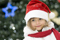 Cute Girl At Christmas Stock Images - 7572864