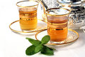 Traditional Moroccan Mint Tea Royalty Free Stock Photography - 7578047