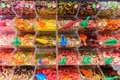 Various Colorful Sweet Jelly For Sale In Candy Store Stock Images - 75713584