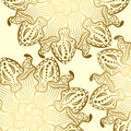 Mandala Gold Background Royalty Free Stock Images - 75783939