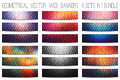 Vector Colorful Web Banners Set Stock Photo - 75794290