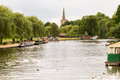 Stratford-Upon-Avon Park Stock Photography - 75823232