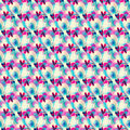 Small Abstract Seamless Colored Pattern In Retro Style Royalty Free Stock Image - 75840746