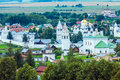 Suzdal City Aerial View With Pokrovsky Convent, Russia Stock Photo - 75853650