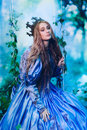 Princess In Magic Forest Stock Image - 75859191