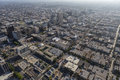 Mid City Los ANgeles Summer Afternoon Aerial Stock Image - 75870941