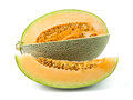 Orange Cantaloupe Melon Royalty Free Stock Photo - 75875865