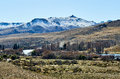 Snowy Mountain In The Distance Royalty Free Stock Image - 75877636