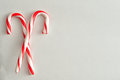 Two Candy Canes Royalty Free Stock Photo - 75889585
