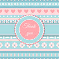 Heart And Flower Cute Romantic Card Stock Photo - 75894210