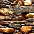 Stone Wall Royalty Free Stock Photo - 7593635