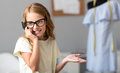 Delighted Girl Talking On The Phone Royalty Free Stock Photo - 75907355