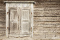 Old Weathered Traditional Wooden Window Shutters. Royalty Free Stock Image - 75911986