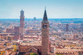Panorama Of Verona Stock Image - 75918761