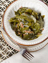 Southern Collard Greens Royalty Free Stock Photography - 75921167