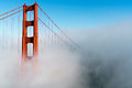 Golden Gate Bridge In Fog Royalty Free Stock Photography - 75929147